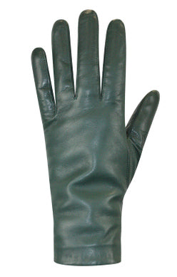 AuClair gloves, Canadian gloves, Ladies leather gloves, leather gloves, green leather gloves, wool-lined gloves, toronto boutique, AuClair gloves Toronto