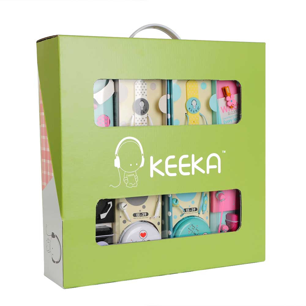 Keeka Complete Fundraising Tote - Includes 20 earphones