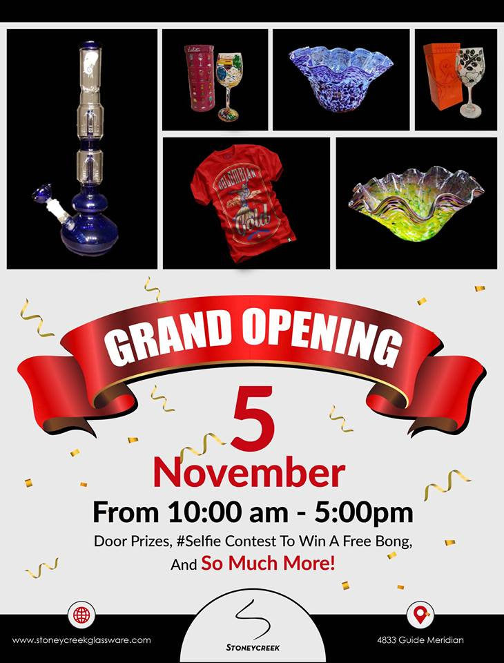 The day has arrived . . . The Grand Opening Nov 5, 2016