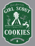 Girl Scout Cookies Stash Pocket T-shirt cannabis