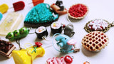 3 Handmade Clay and Resin Charms