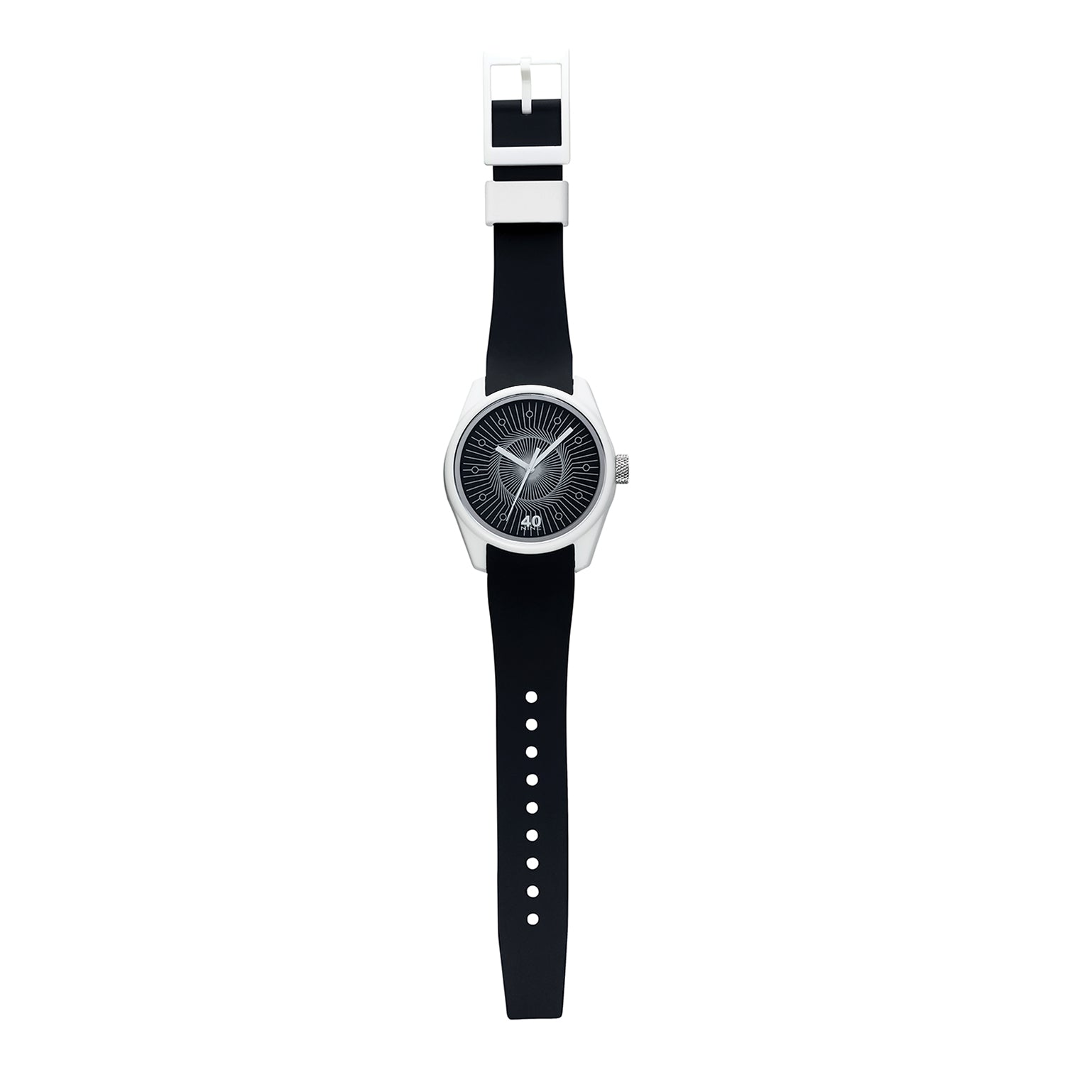 40N3.7BK 40NINE BEAT 43MM WATCH