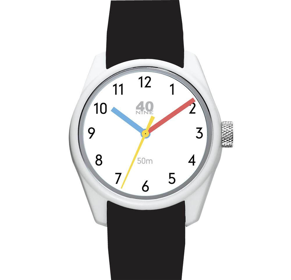 40N3.9BK 40NINE PRIMARY 43MM WATCH