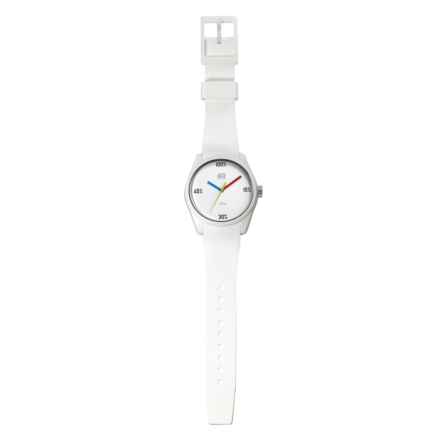 40N4.6W 40NINE 100% 43MM WATCH
