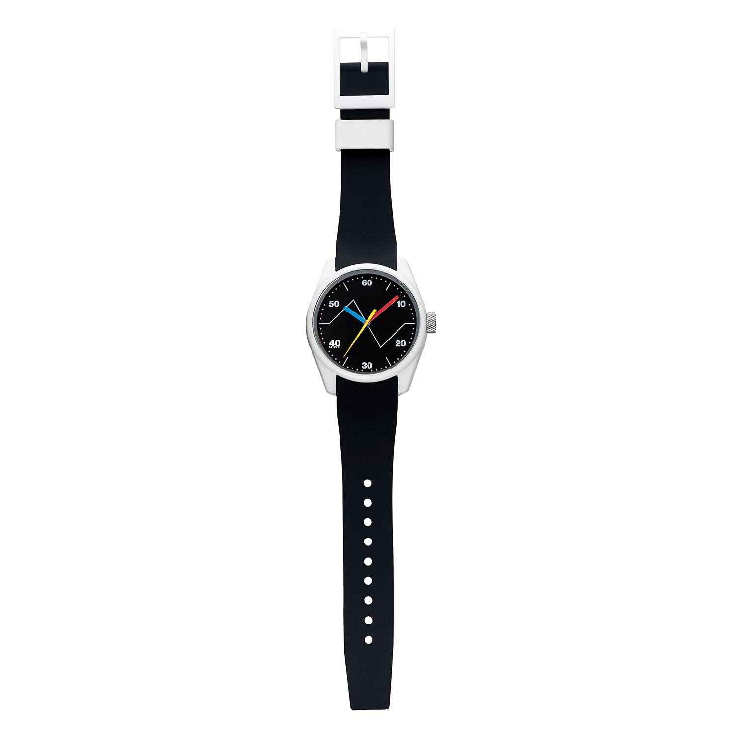 40N4.7BK 40NINE FLUCTUATION 43MM WATCH