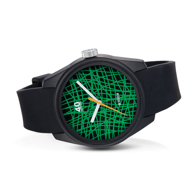 "40N5.2.1M 40Nine 43mm ""Rubber Band"" Watch"