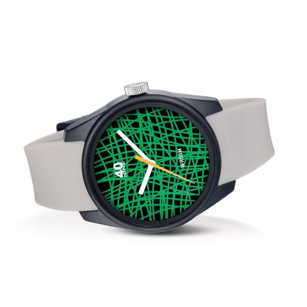 "40N5.2.6M 40Nine 43mm ""Rubber Band"" Watch"