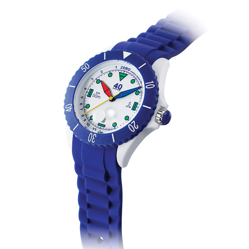 40Nine Large 45mm Blue FUN Watch