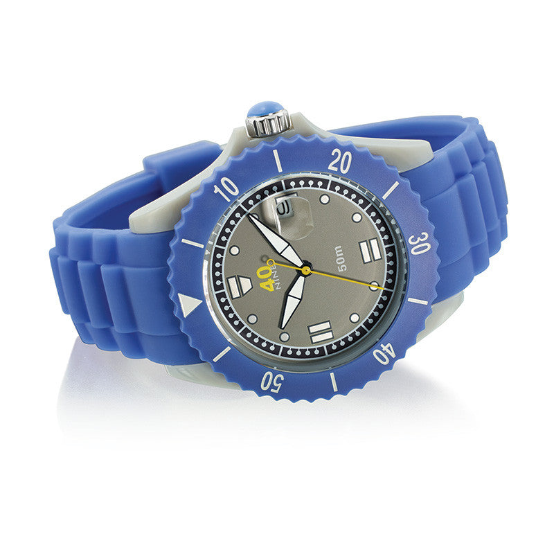 40Nine Large 45mm Periwinkle Watch
