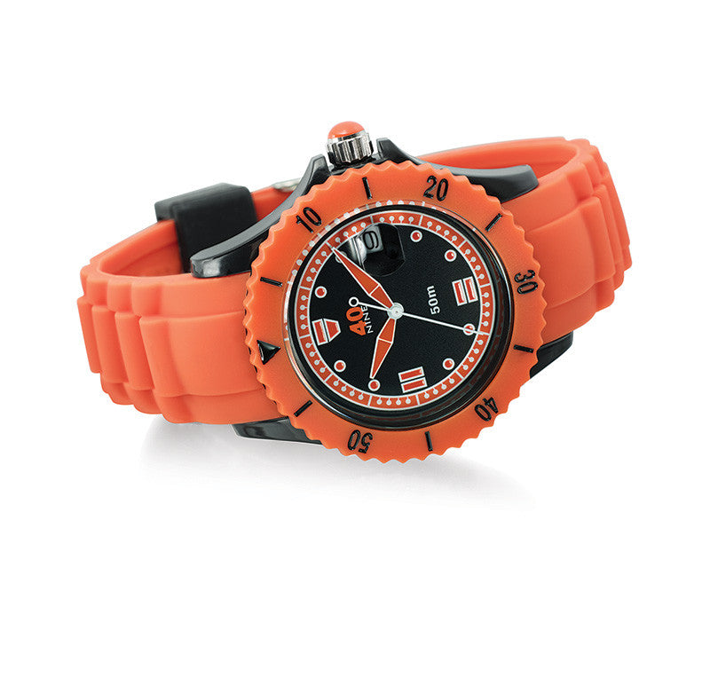 40Nine Medium 40mm Orange Watch