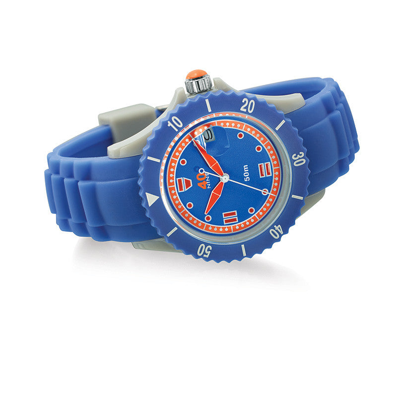 40Nine Medium 40mm Periwinkle Watch