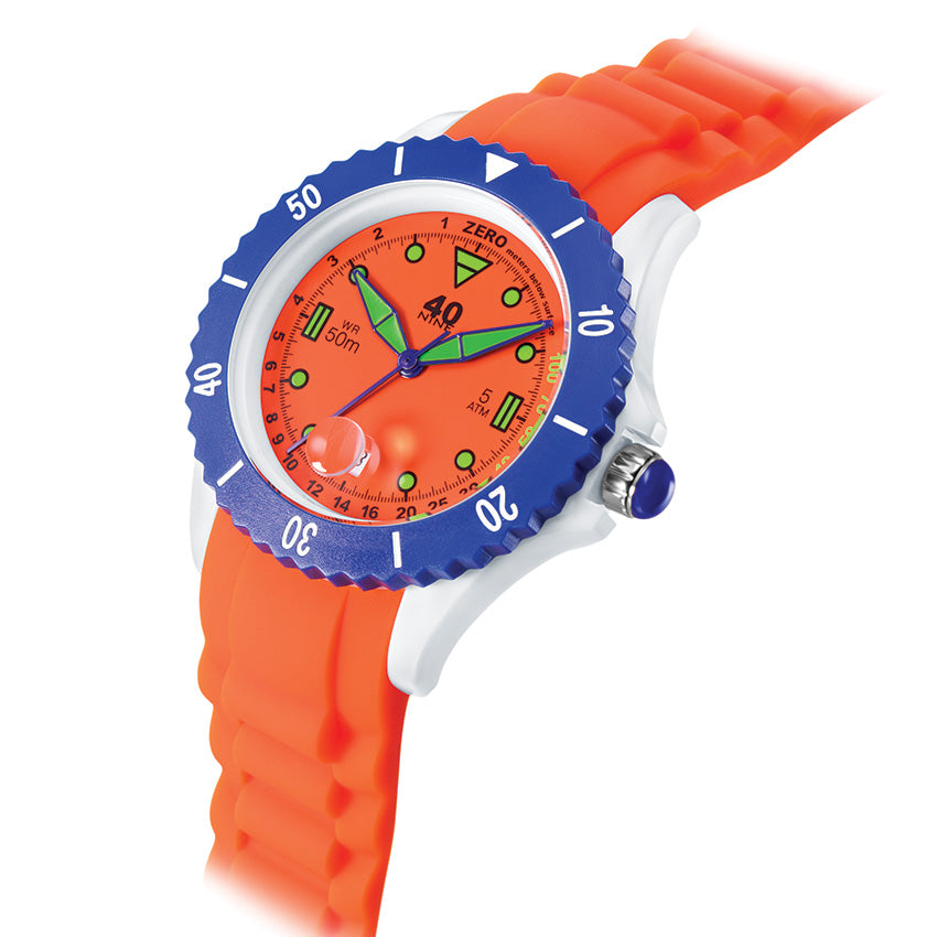 40Nine 40mm Medium Orange Watch