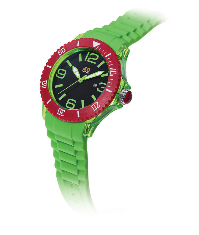 40Nine Extra Large 50mm Green Watch