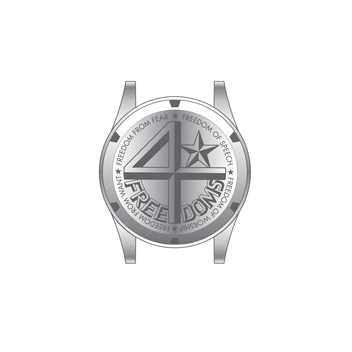 40N6.2.9M 40Nine 43mm 4Freedoms Watch