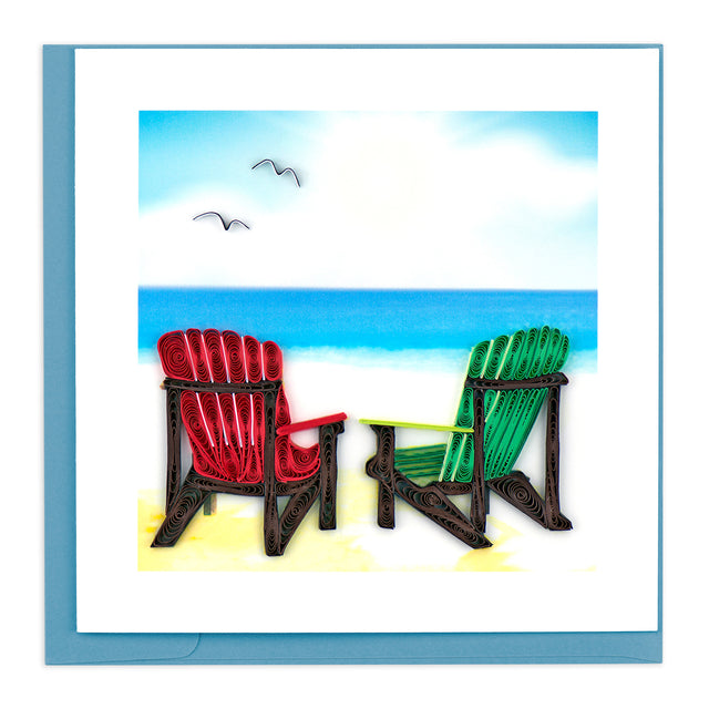 BL1006 Quilling Card – Adirondack Chairs