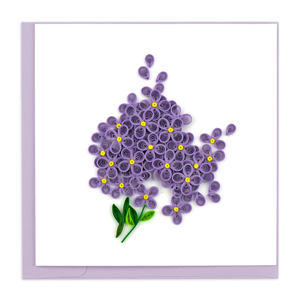 BL955 Quilling Card – Lilac