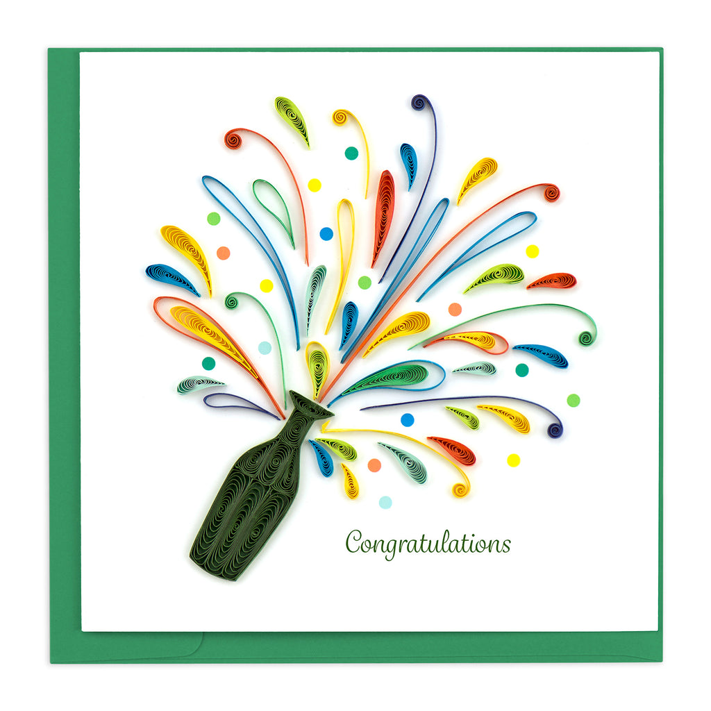 CG804 Quilling Card – Celebration Congrats
