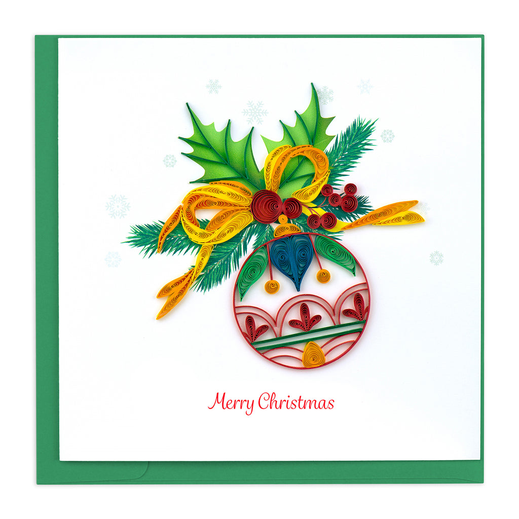 HD612 Quilling Card – Christmas Ornament