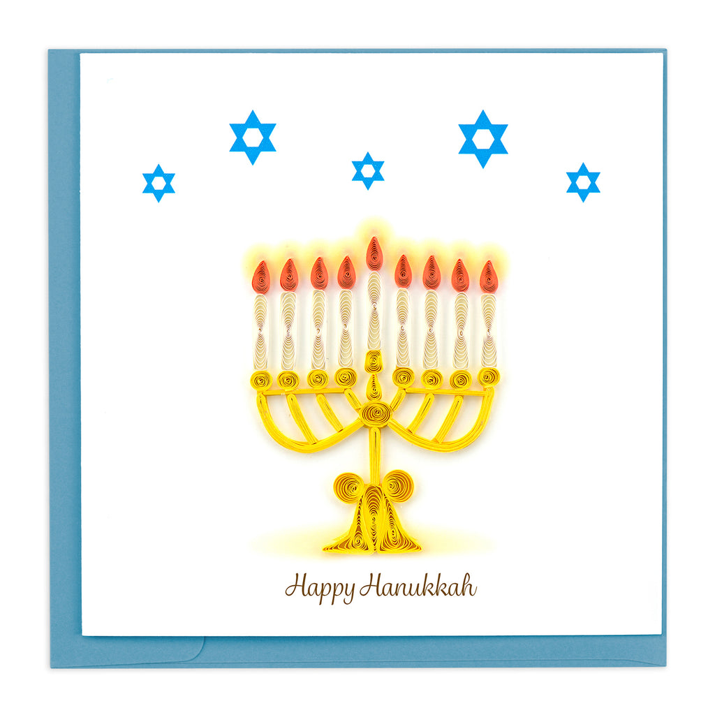 HD617 Quilling Card – Happy Hanukkah