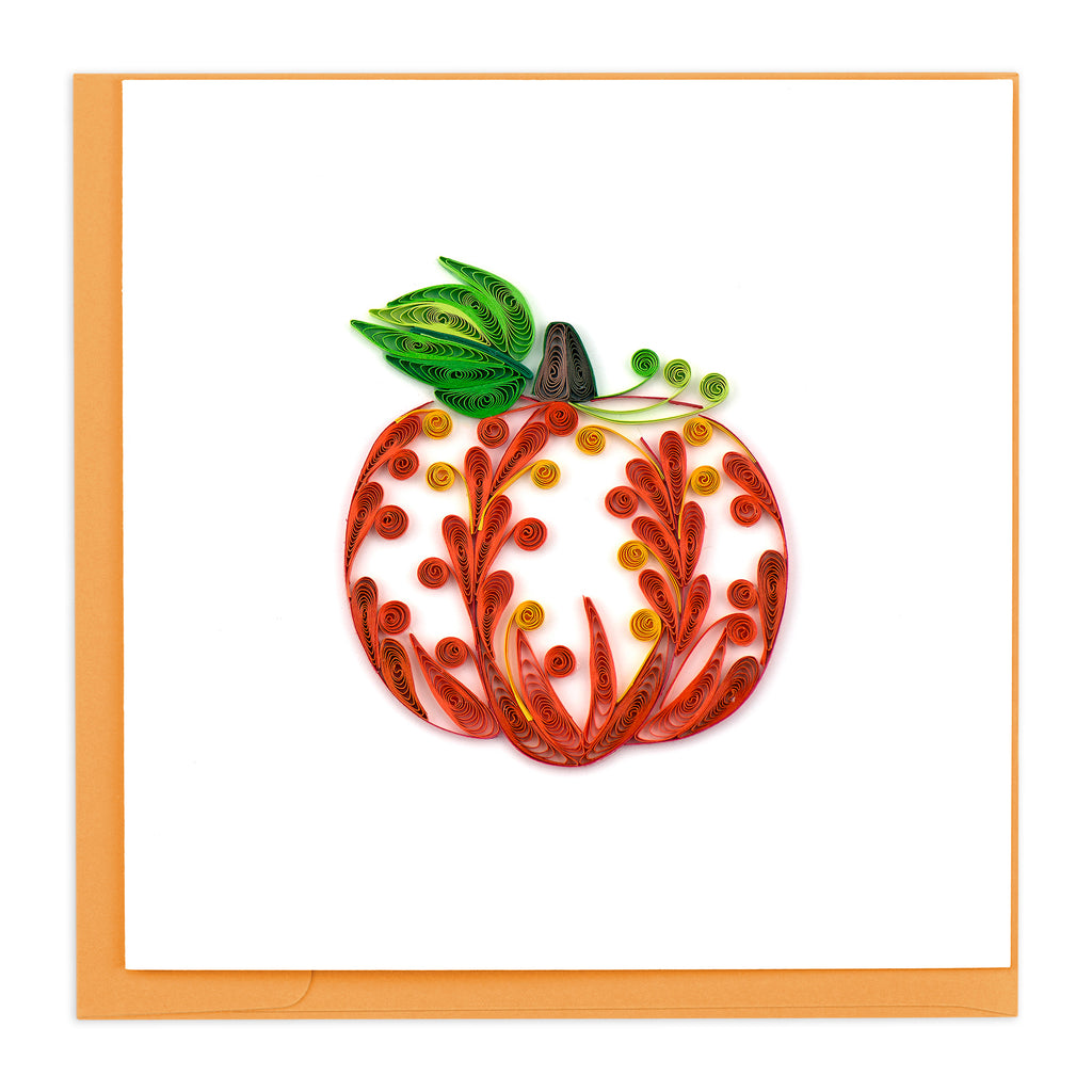 HD621 Quilling Card – Halloween Decorative Pumpkin