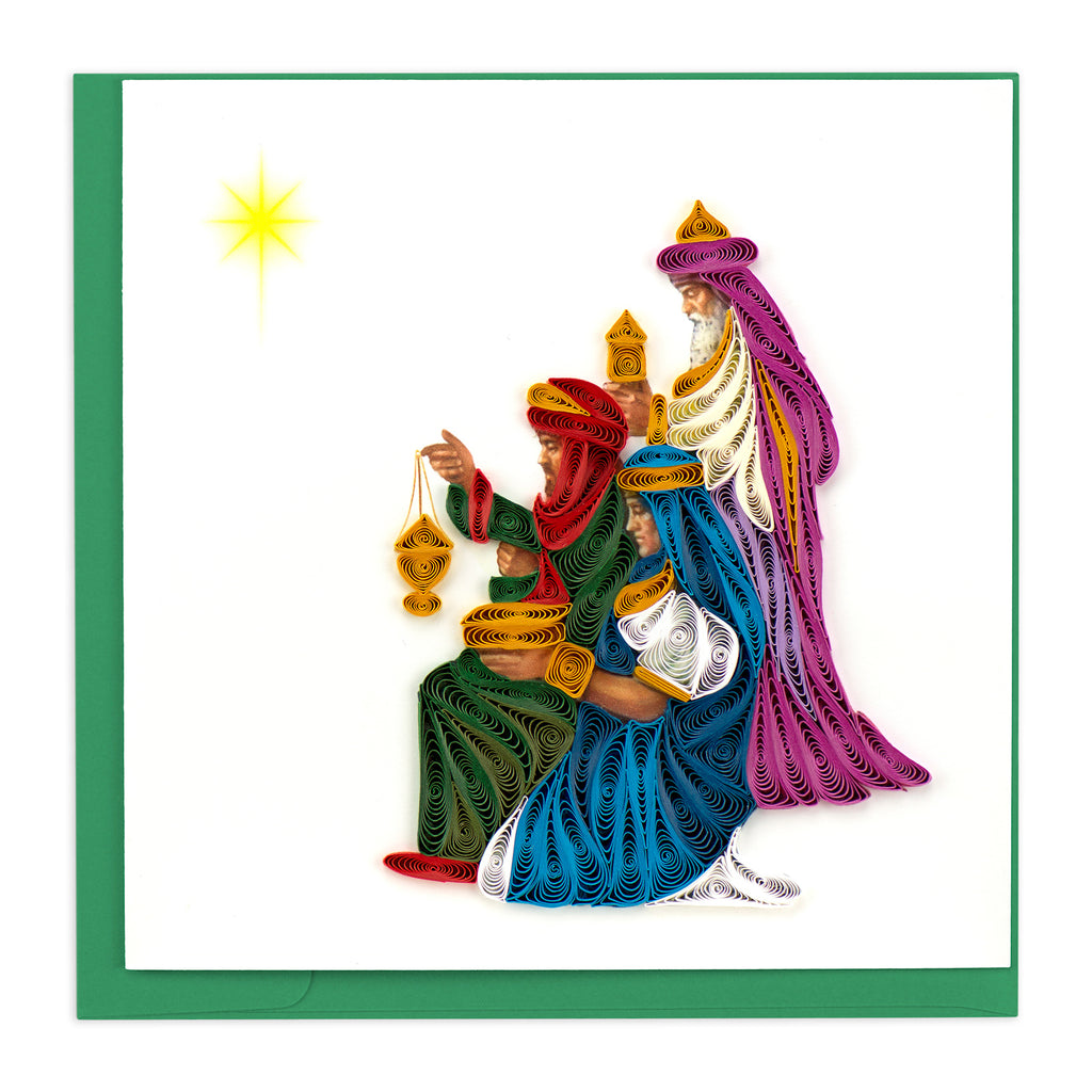 HD637 Quilling Card – Three Wise Men