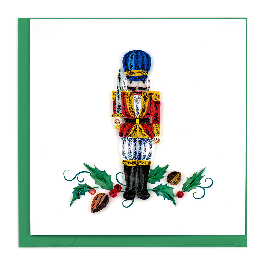 HD645 Quilling Card – Nutcracker