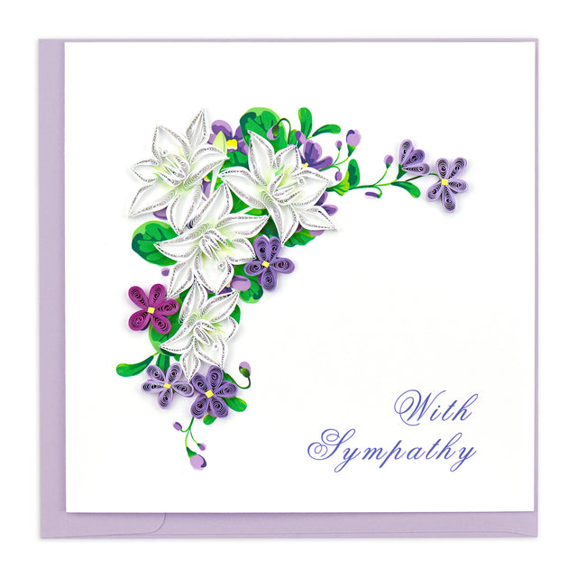 SO700 Quilling Card – With Sympathy