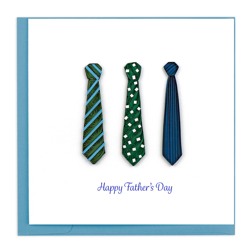 SO708 Quilling Card – Father's Day Ties