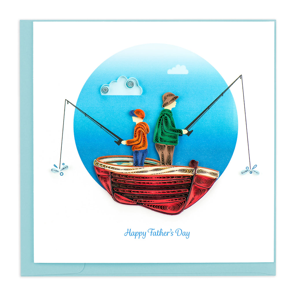 SO730 Quilling Card – Father's Day Fishing