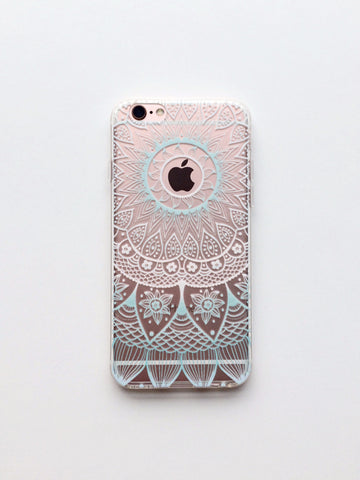 Baby Blue Sunrise Phone Case