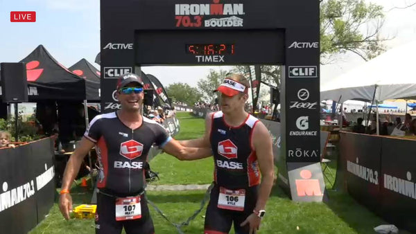What is it like to lead a 100% blind athlete through an Ironman Triathlon