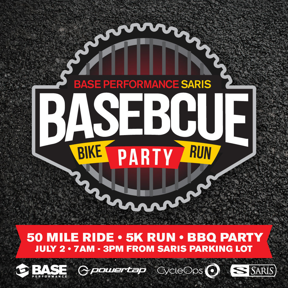 BASE-B-QUE Ride Run and Grill with SARIS