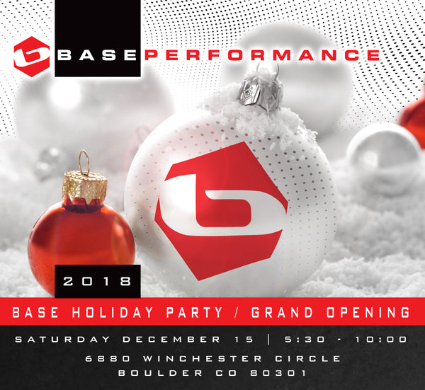 HOLIDAY PARTY AND HOME BASE GRAND OPENING