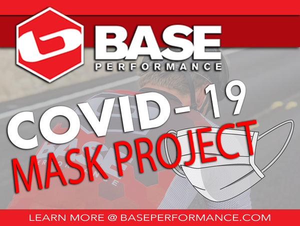 <p><strong>THE BASE COVID-19 MASK PROJECT<p><strong>