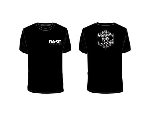 TEAM BASE T Shirt - Black-CLOSEOUT