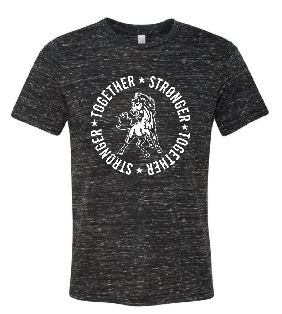 Special Pre-Order: Mustang Together Stronger Adult T-shirt