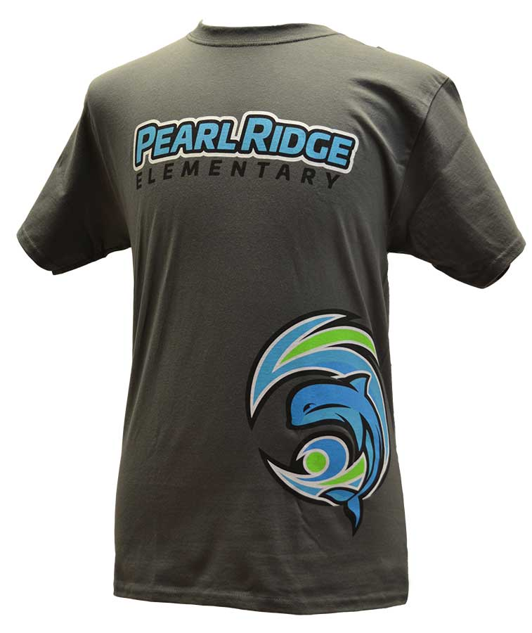 Pearl Ridge Circle Logo T-Shirt
