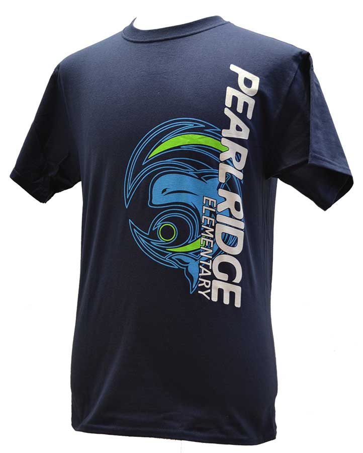 Pearl Ridge Vertical Logo T-Shirt