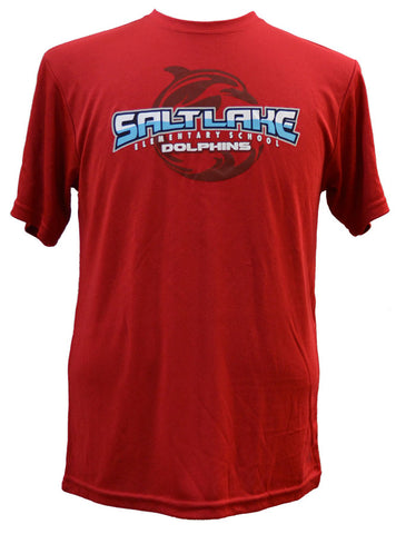 Salt Lake Dolphin Curl Dri-Fit Red
