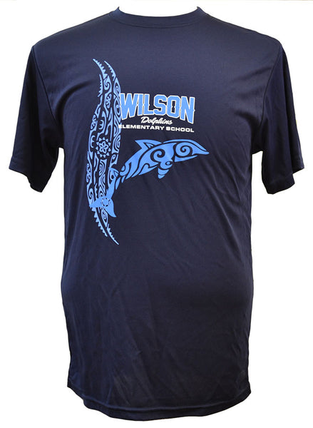 Wilson Tribal Dolphin Dri-Fit Short-Sleeve