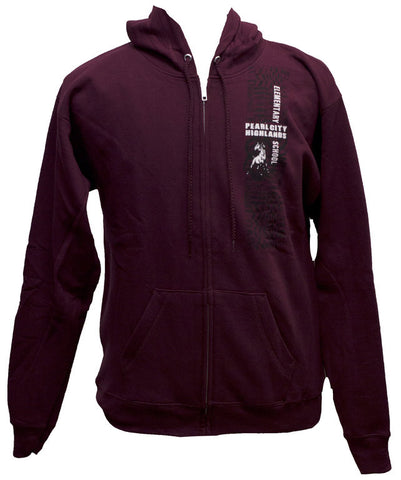 Pearl City Highlands El Tribal Zip Hoodie