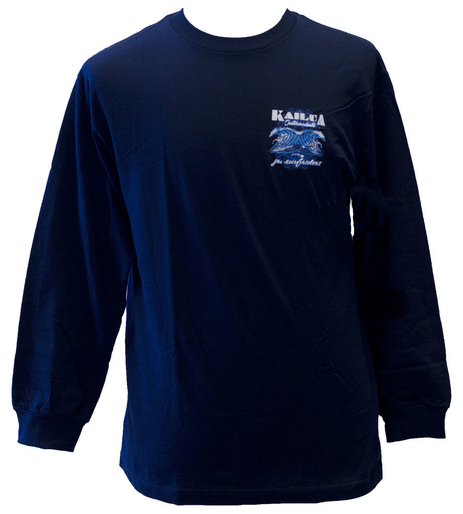 Kailua Inter Wood Cut T-Shirt L/S