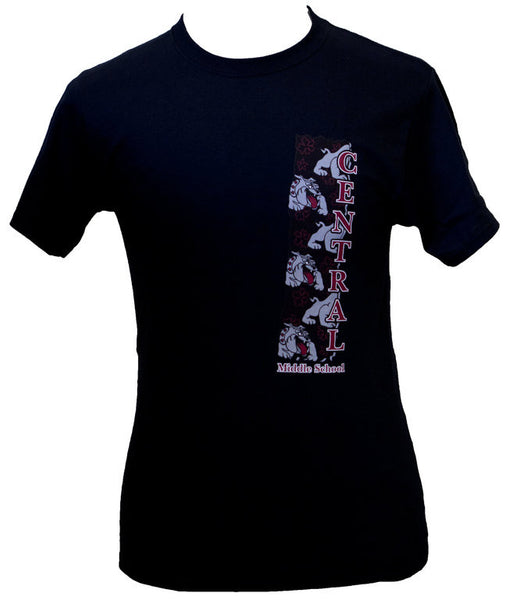 Central Vertical Bulldog T-Shirt