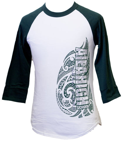 Aiea High Tribal Raglan