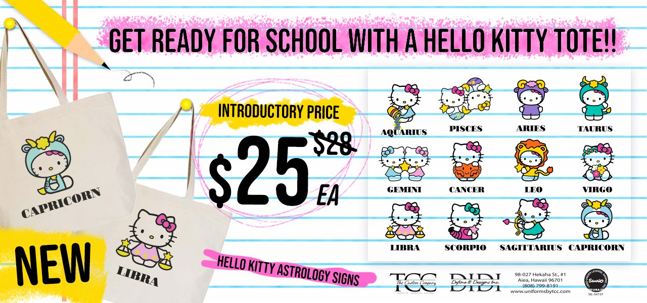 Hello Kitty Tote Bags