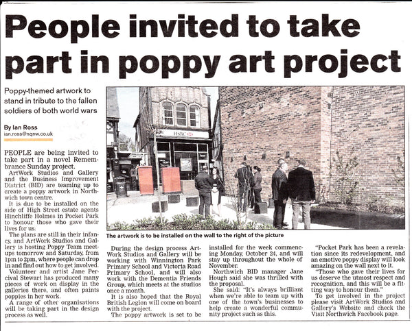 Poppy Day Art Project