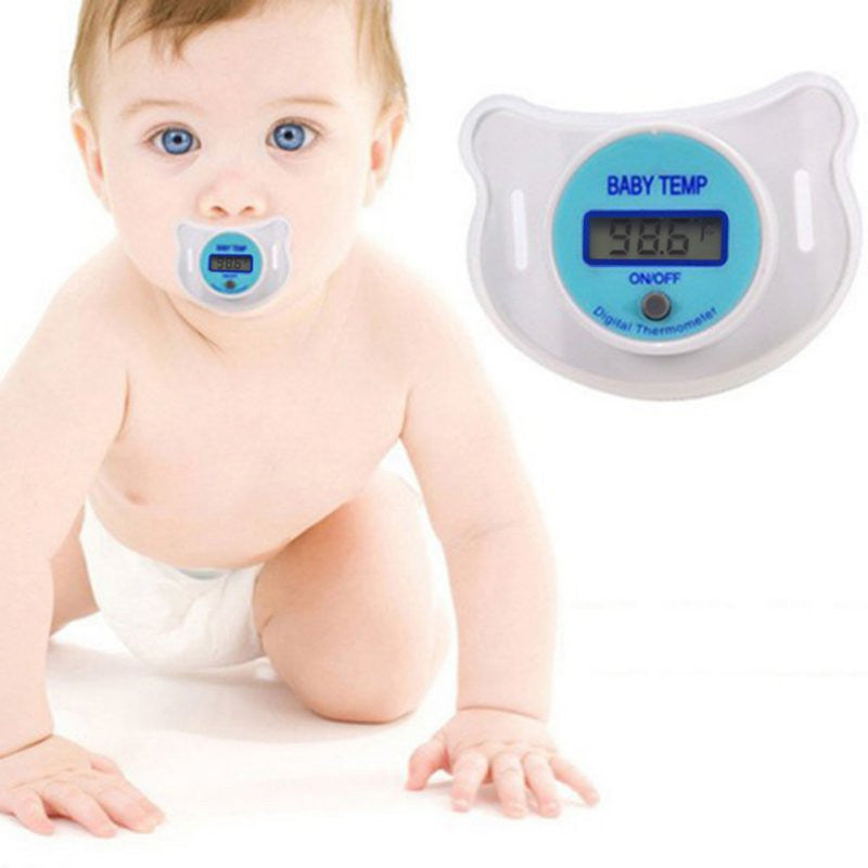 LCD Digital Mouth Baby Nipple Thermometer