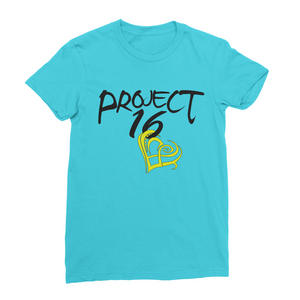 Project 16 t-shirt design to support children in Jamaica