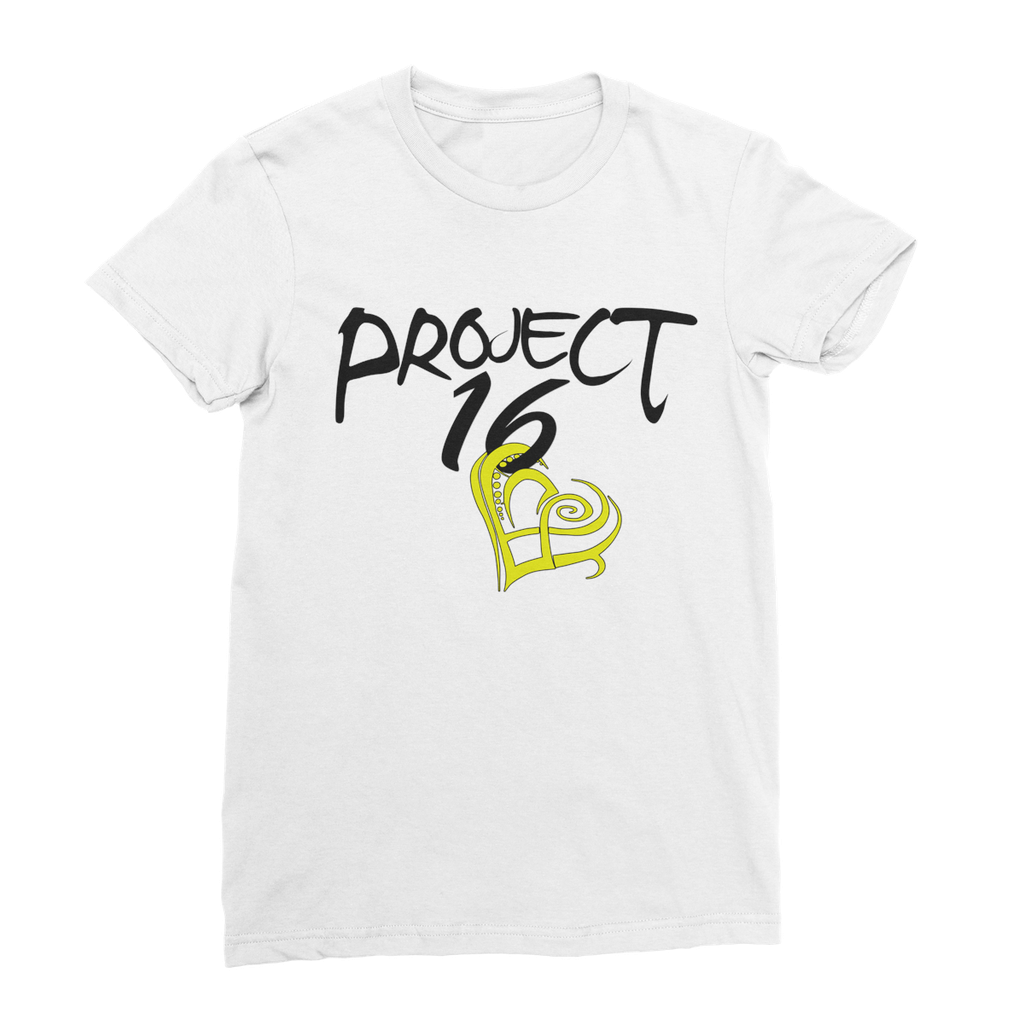 Project 16 t-shirt design to support children in Jamaica.