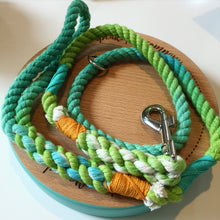 Haus of Hound hand dyed Shirobi double whipped 'Cabanna Boy' rope leash